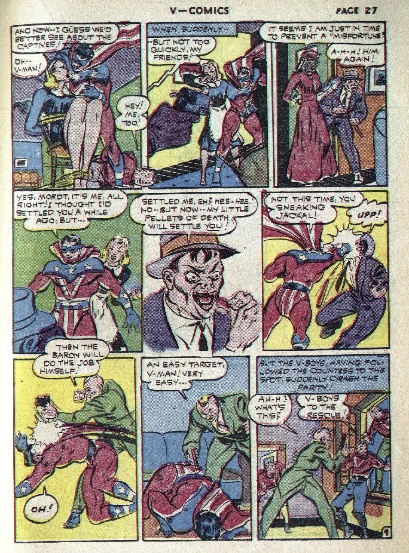 Read online V...- Comics comic -  Issue #1 - 29