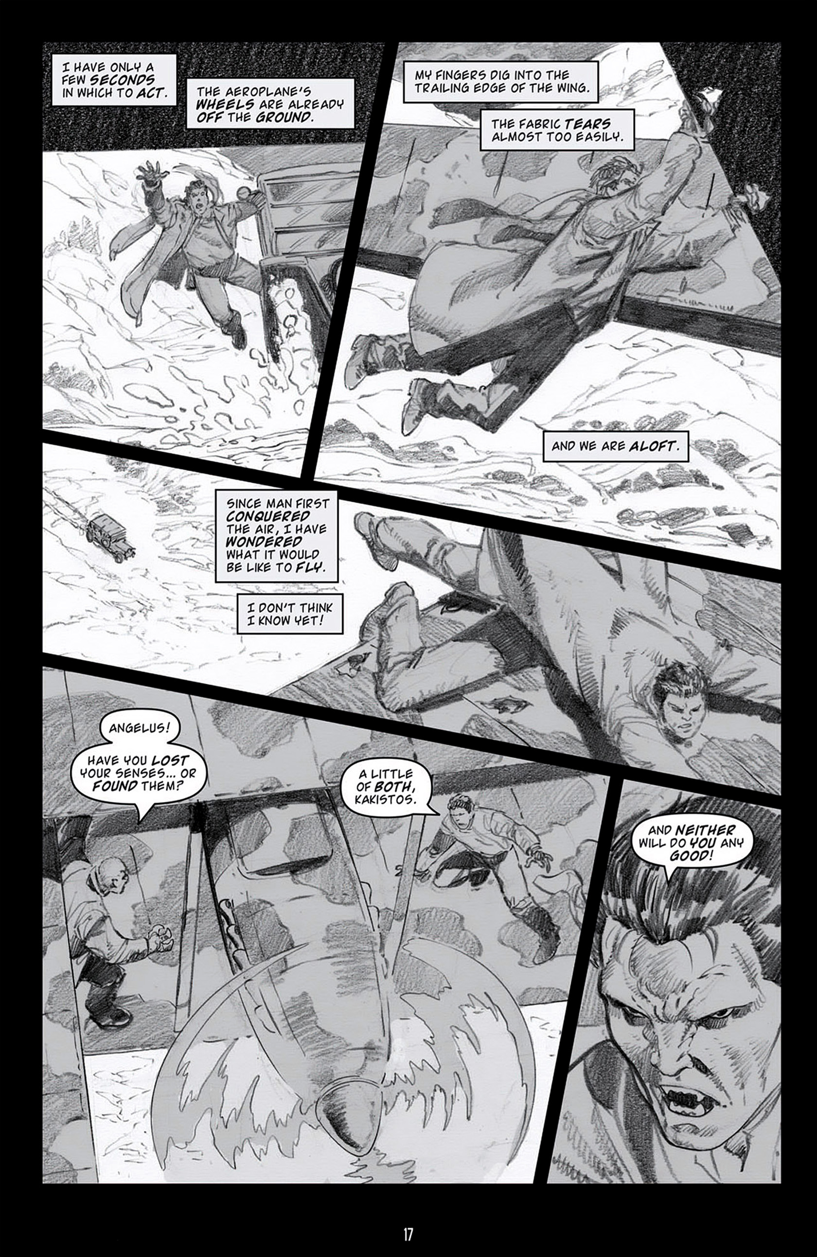 Read online Angel: Blood & Trenches comic -  Issue #4 - 20