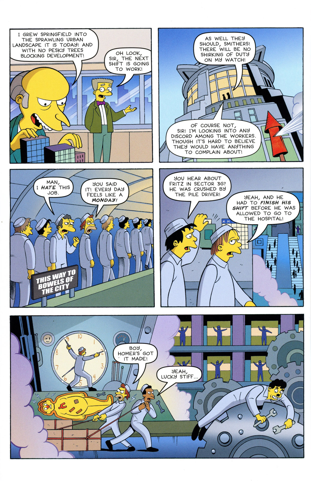 Read online Treehouse of Horror comic -  Issue #21 - 34