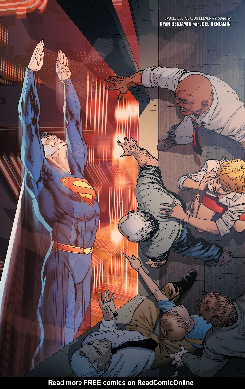 Read online Smallville Season 11 [II] comic -  Issue # TPB 1 - 37