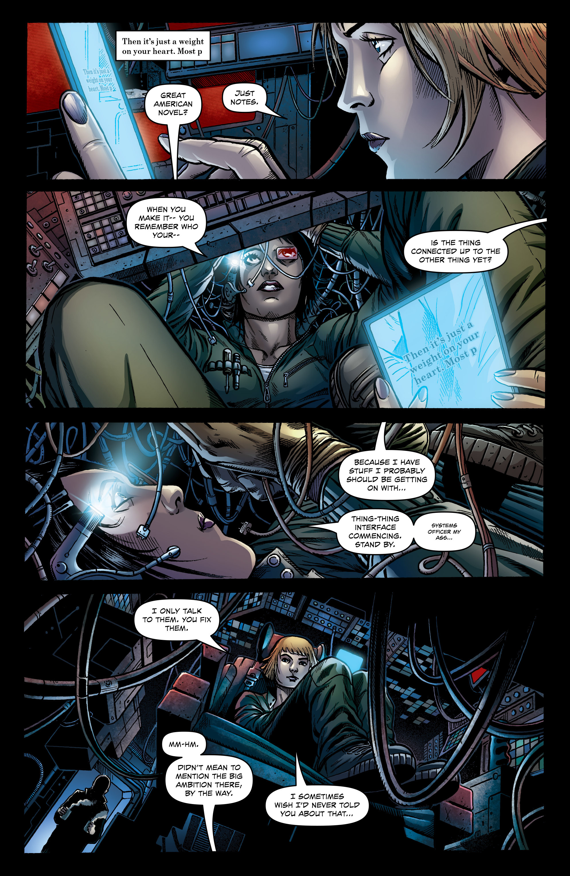 Read online Caliban comic -  Issue #1 - 9