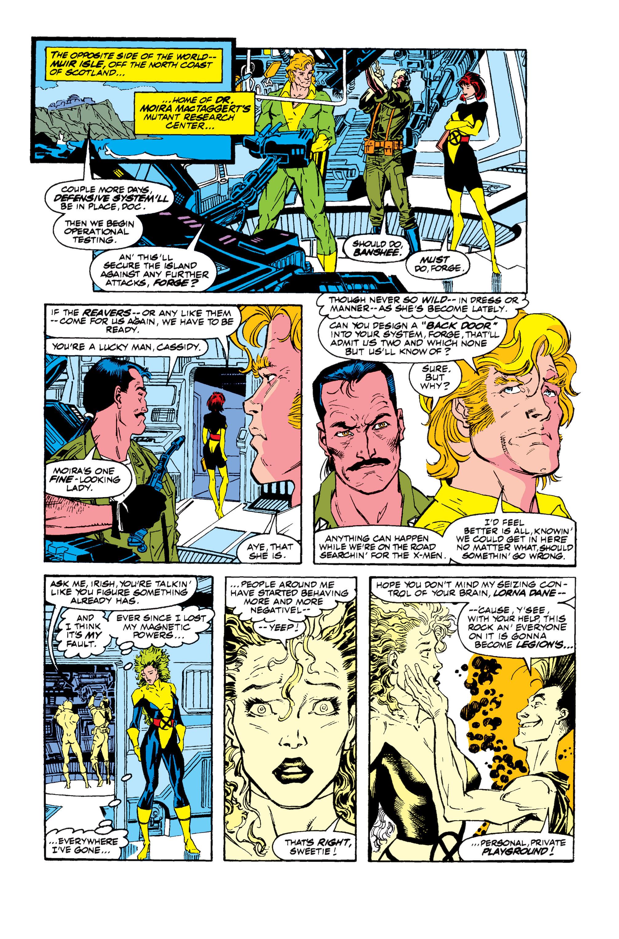 Read online Uncanny X-Men (1963) comic -  Issue #257 - 18