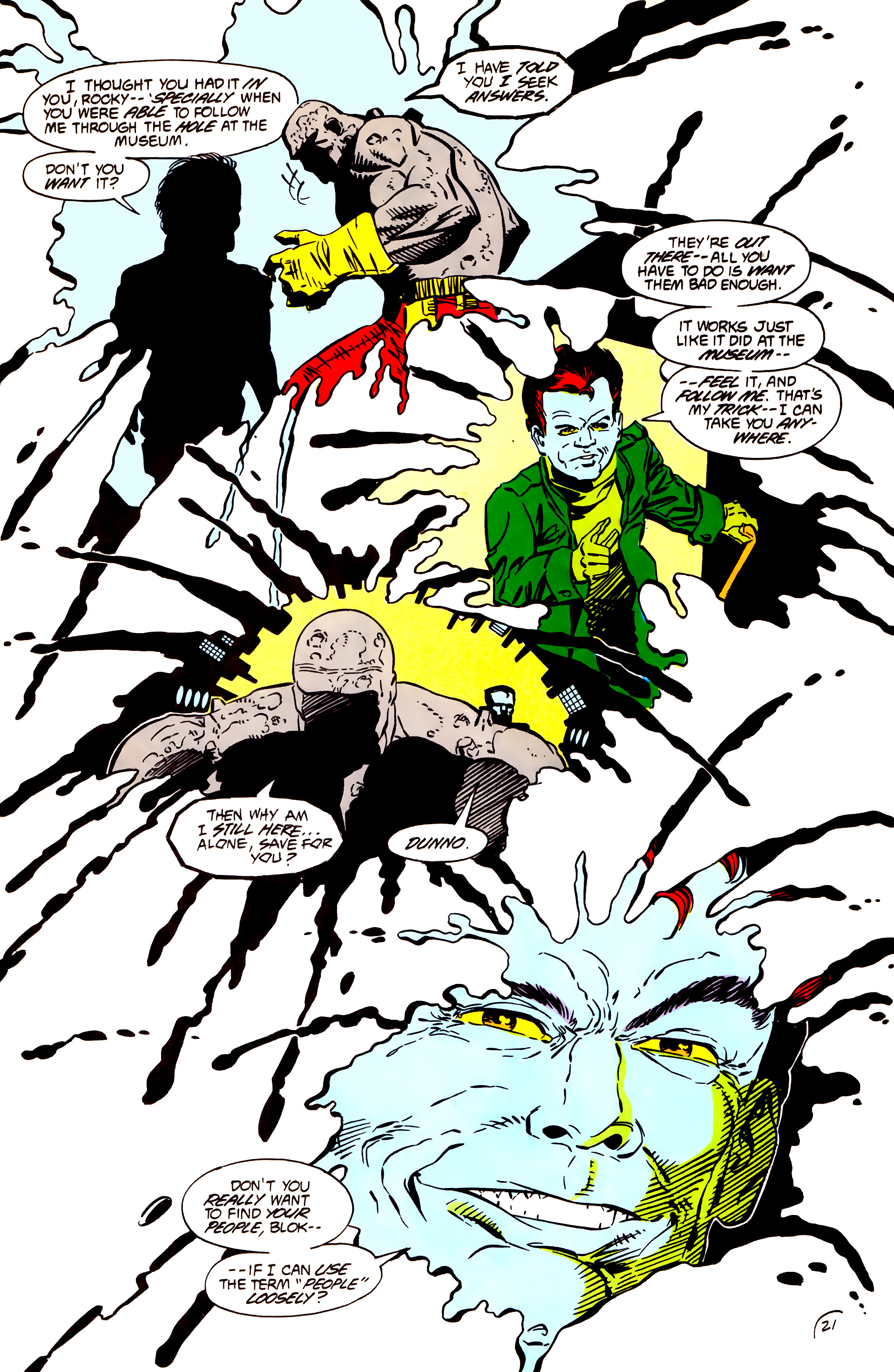 Legion of Super-Heroes (1984) 55 Page 21