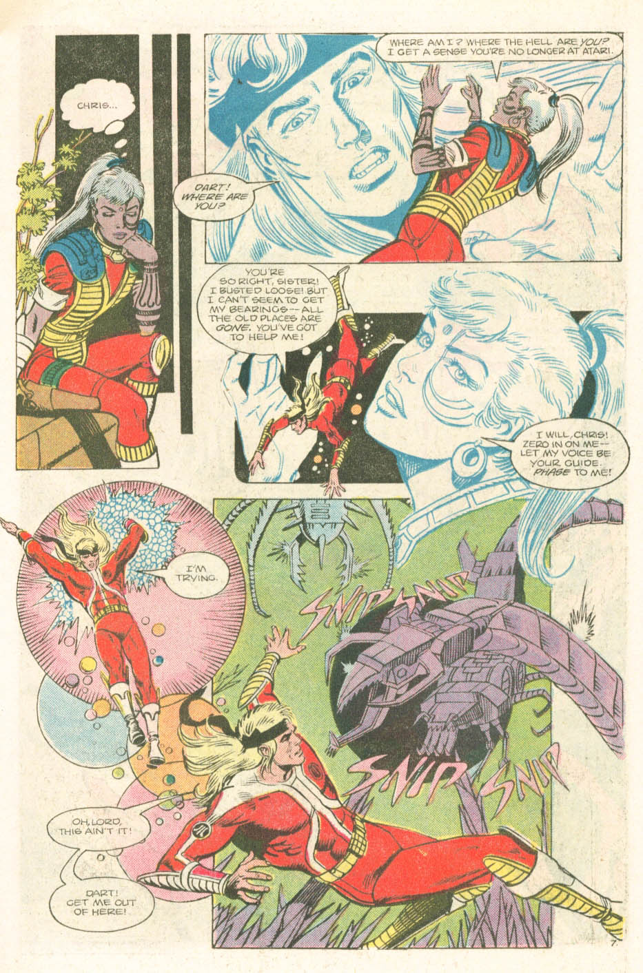 Read online Atari Force (1984) comic -  Issue #18 - 9