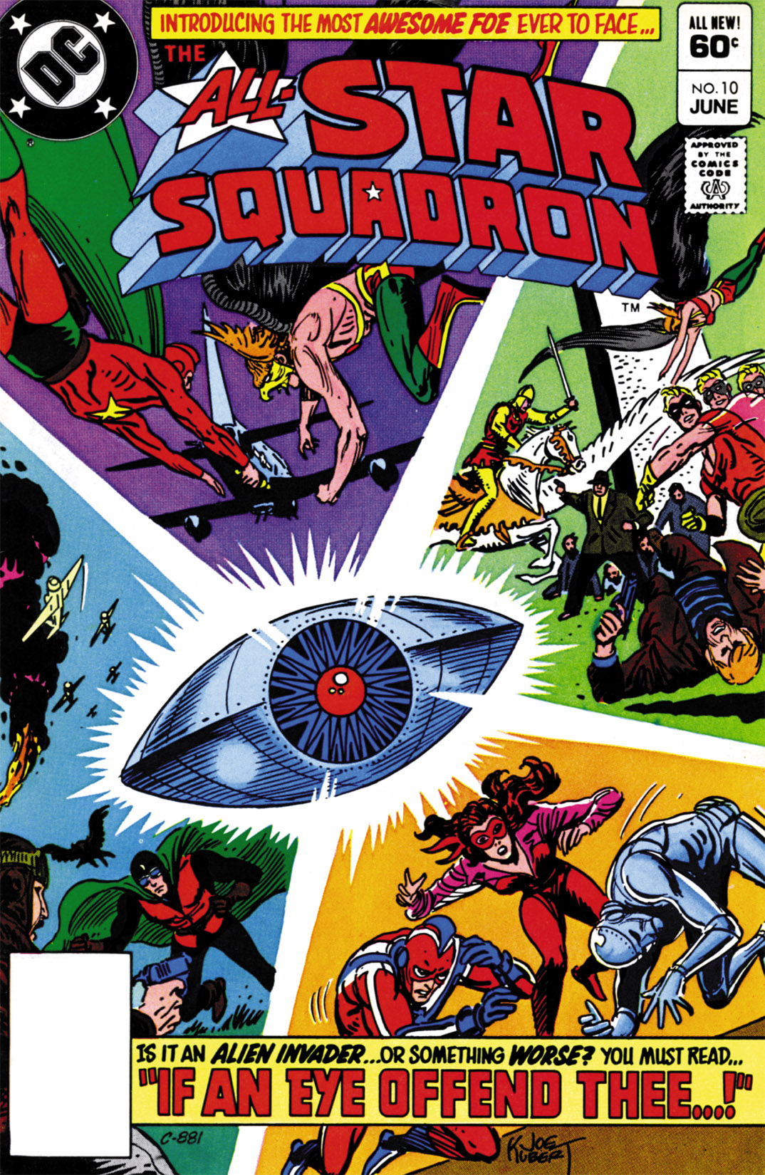 Read online All-Star Squadron comic -  Issue #10 - 1