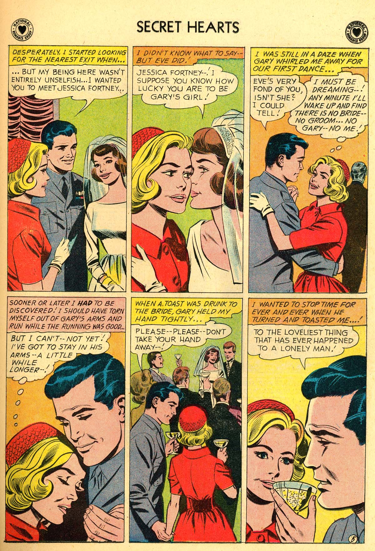 Read online Secret Hearts comic -  Issue #66 - 23