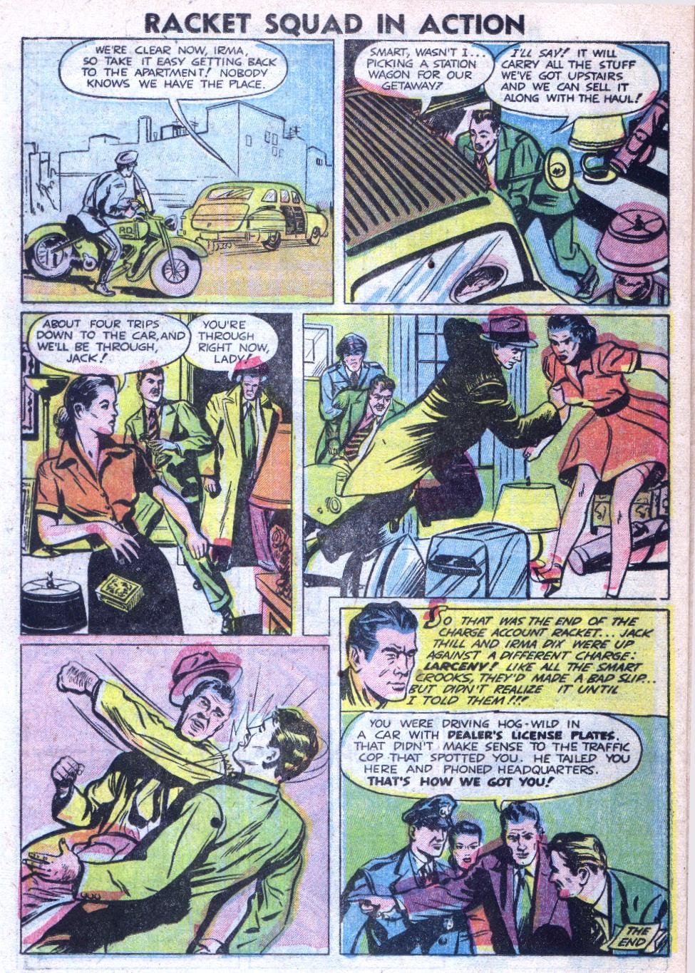Read online Racket Squad in Action comic -  Issue #4 - 22