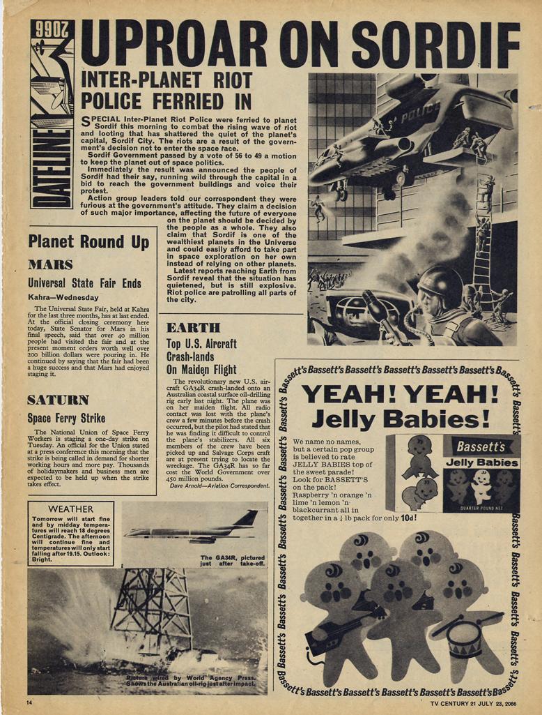 Read online TV Century 21 (TV 21) comic -  Issue #79 - 13