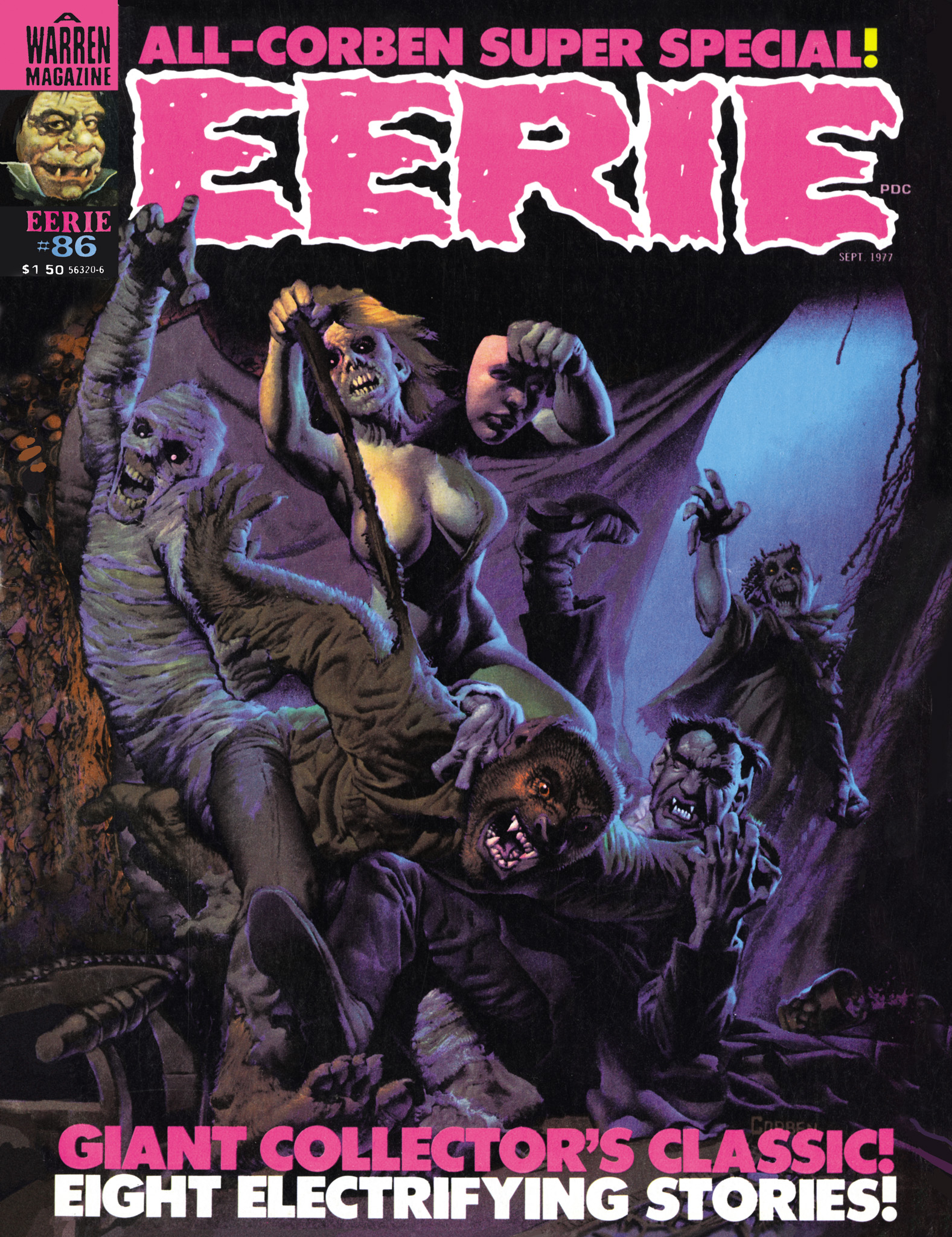 Read online Eerie Archives comic -  Issue # TPB 18 - 10