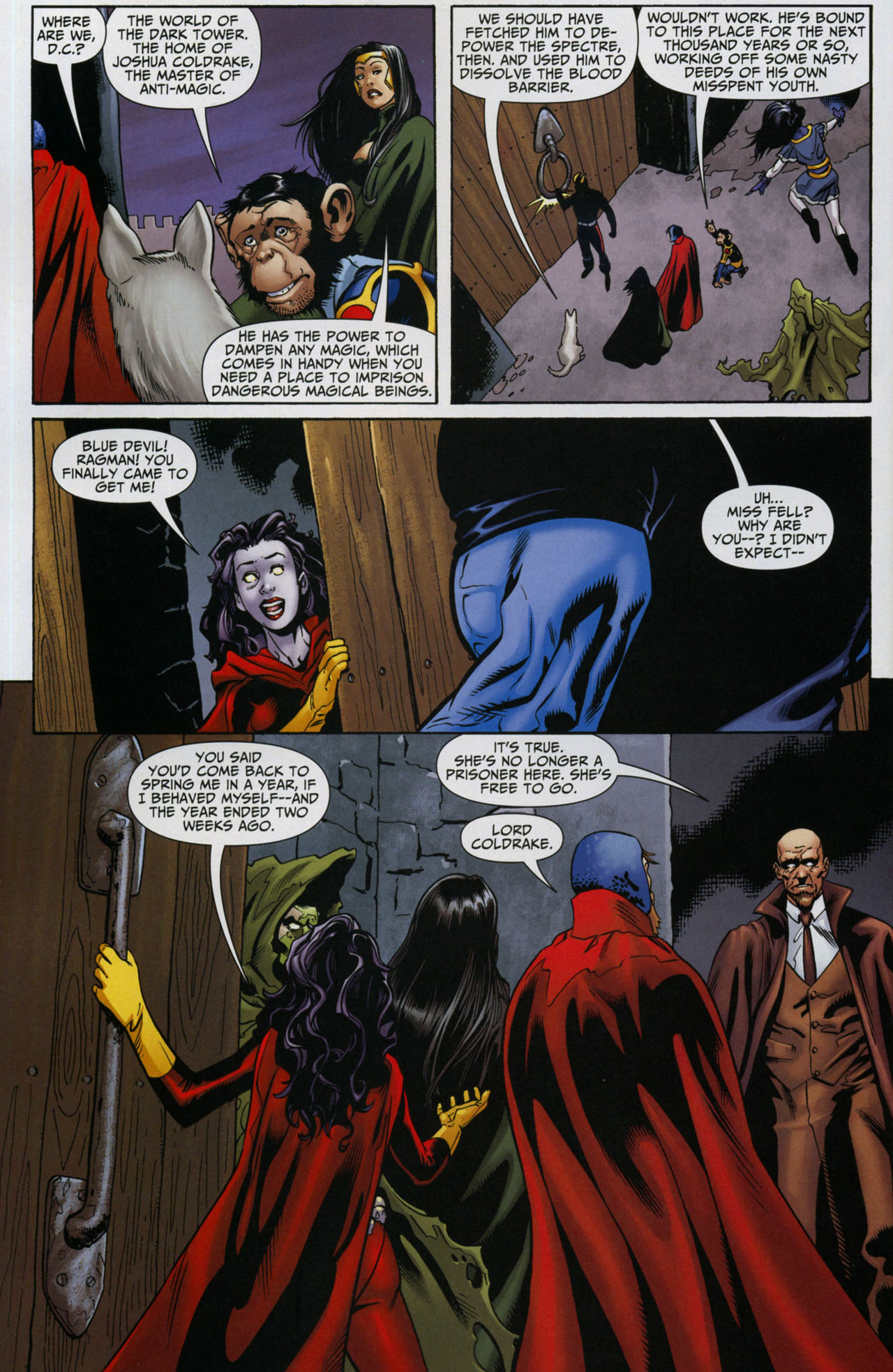 Read online Shadowpact comic -  Issue #5 - 5