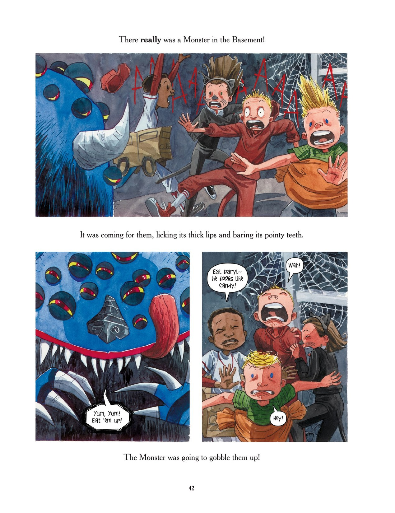 Read online Scary Godmother comic -  Issue # TPB - 42