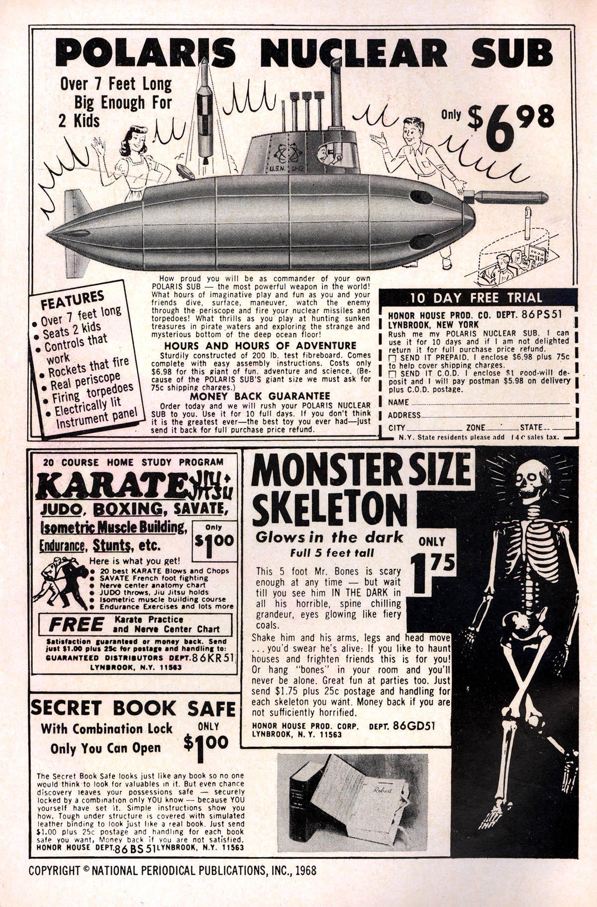 Read online Adventure Comics (1938) comic -  Issue #378 - 2
