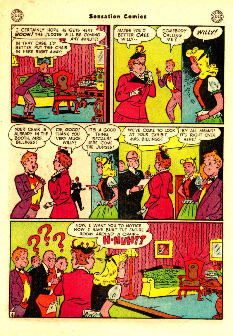 Read online Sensation (Mystery) Comics comic -  Issue #88 - 27