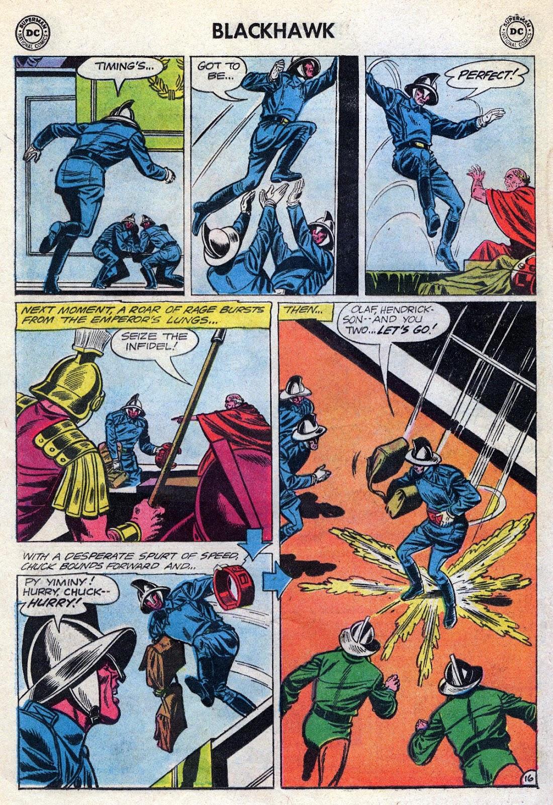 Blackhawk (1957) Issue #189 #82 - English 20