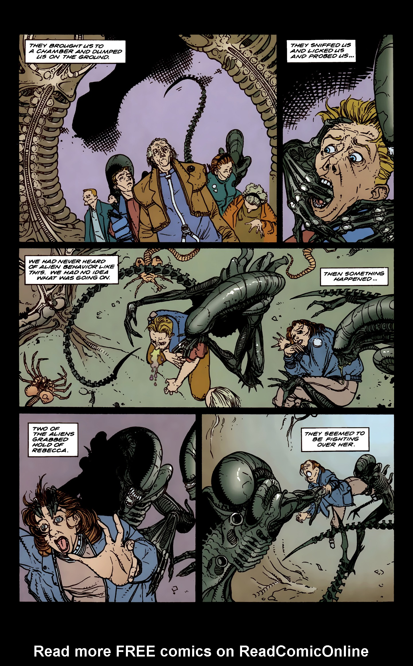 Read online Aliens: Labyrinth comic -  Issue #3 - 10