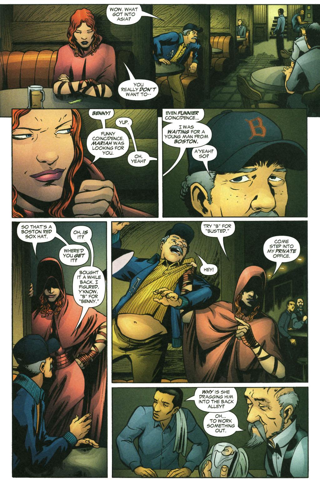 Read online Fallen Angel (2003) comic -  Issue #14 - 20