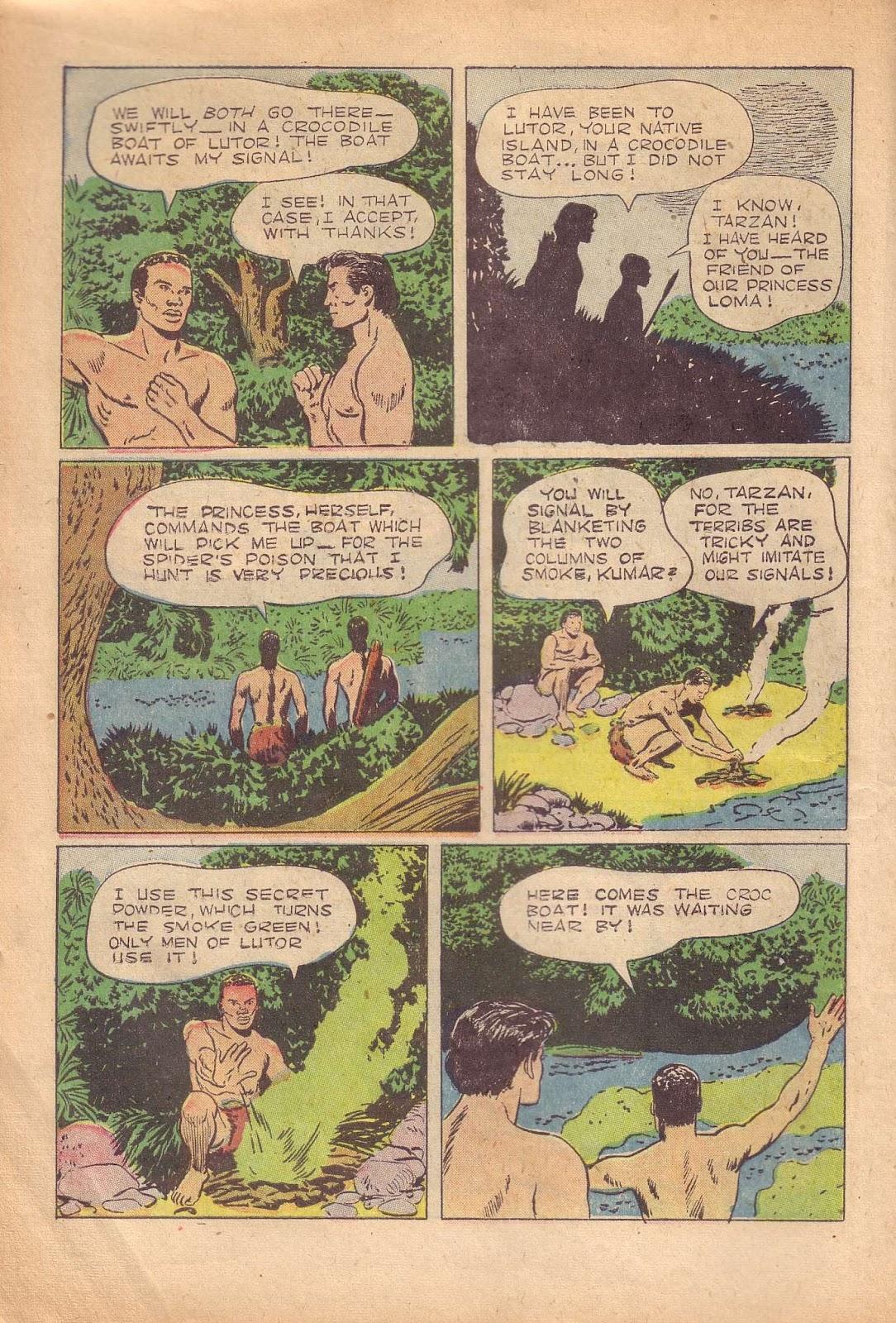 Tarzan (1948) issue 50 - Page 14