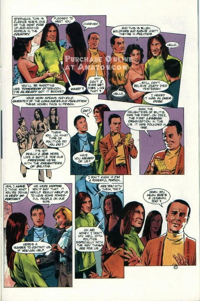 Read online Quantum Leap comic -  Issue #9 - 12