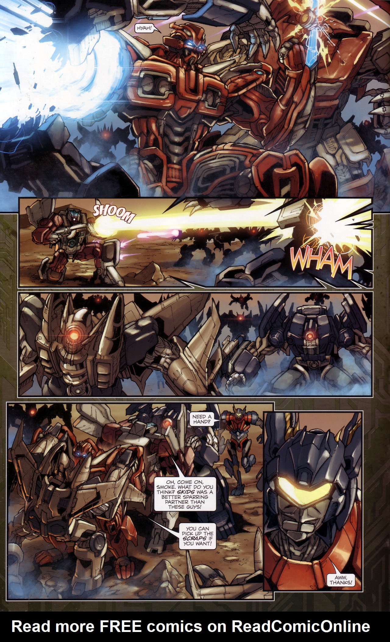 Read online Transformers: The Reign of Starscream comic -  Issue #3 - 6