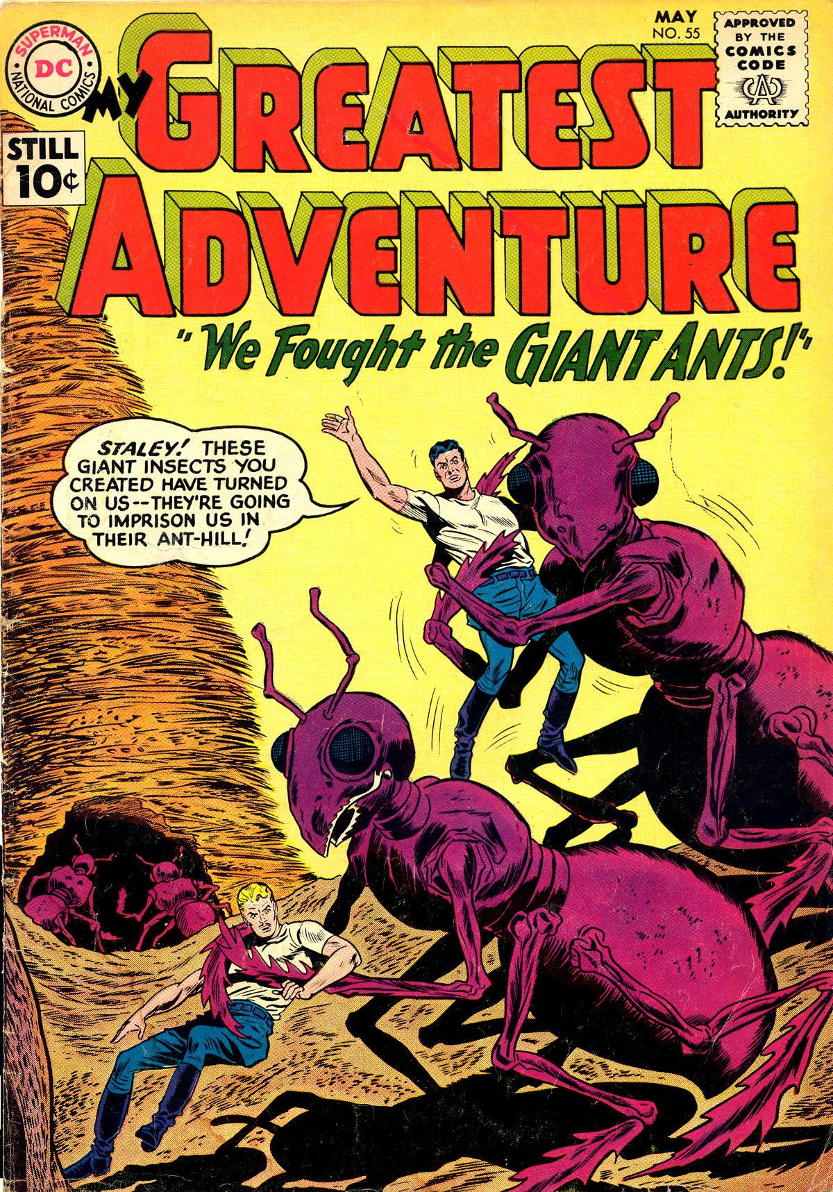 My Greatest Adventure (1955) 55 Page 1