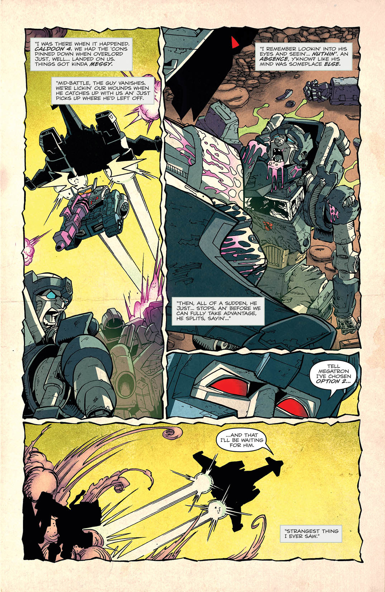 Read online Transformers: Last Stand of The Wreckers comic -  Issue #2 - 16