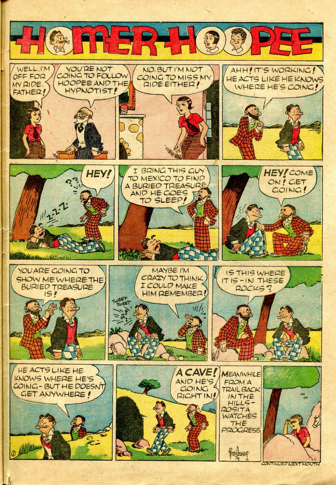 Read online Famous Funnies comic -  Issue #64 - 62