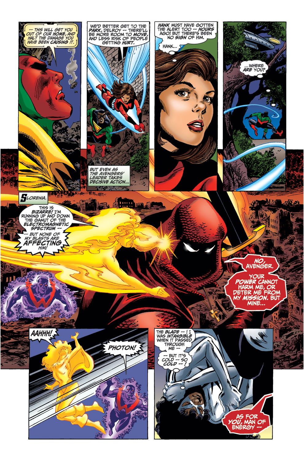 Read online Avengers (1998) comic -  Issue #37 - 6