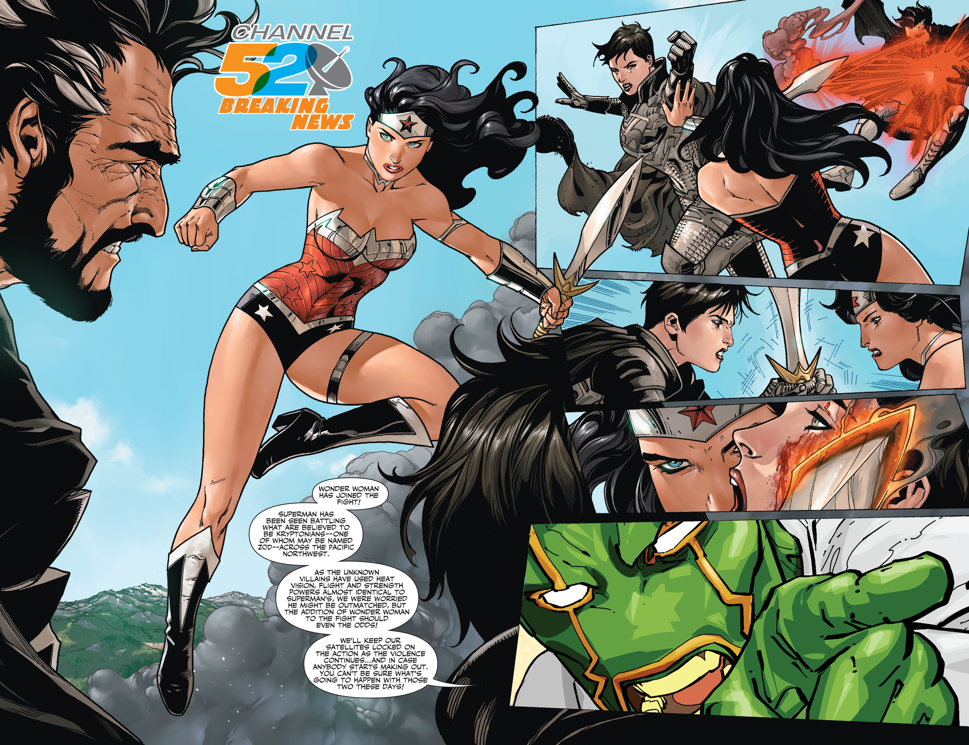Read online Worlds' Finest comic -  Issue #20 - 21