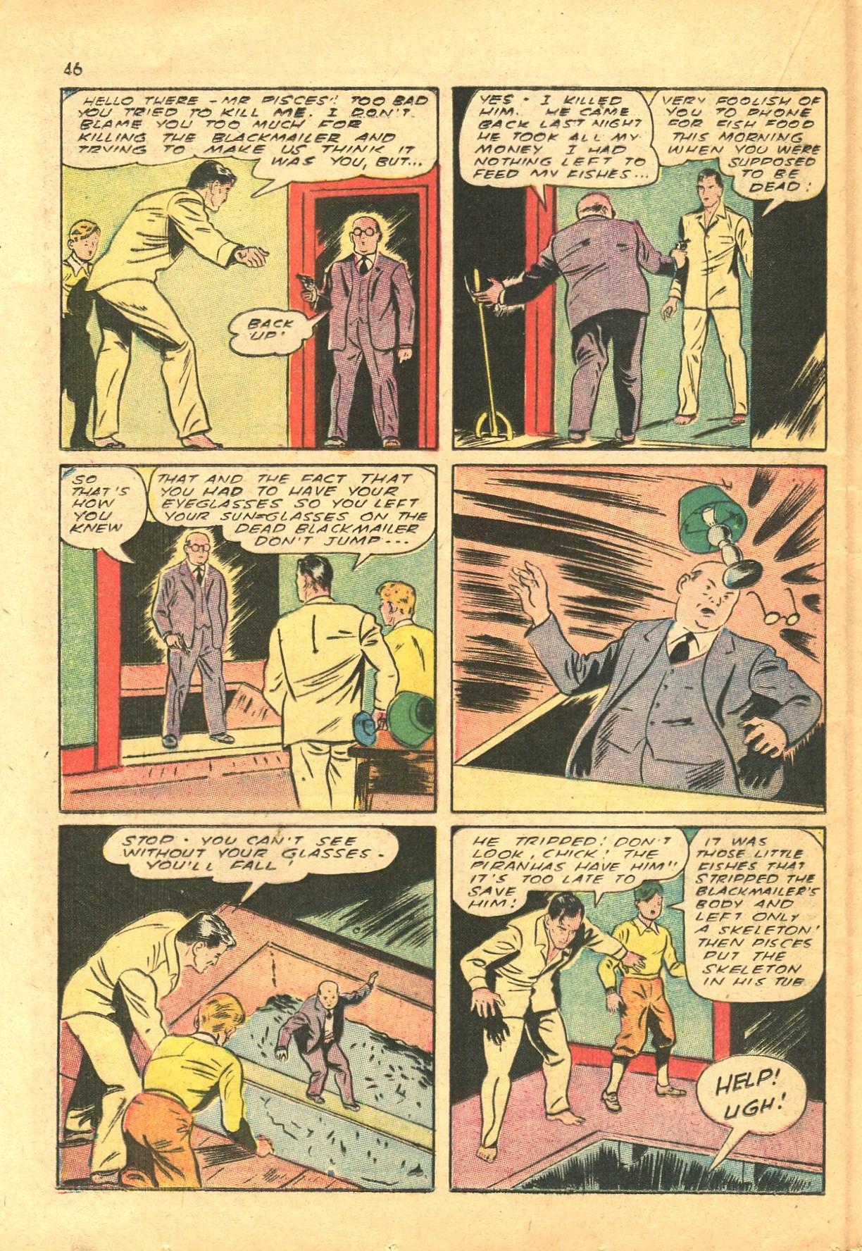Read online Shadow Comics comic -  Issue #24 - 38