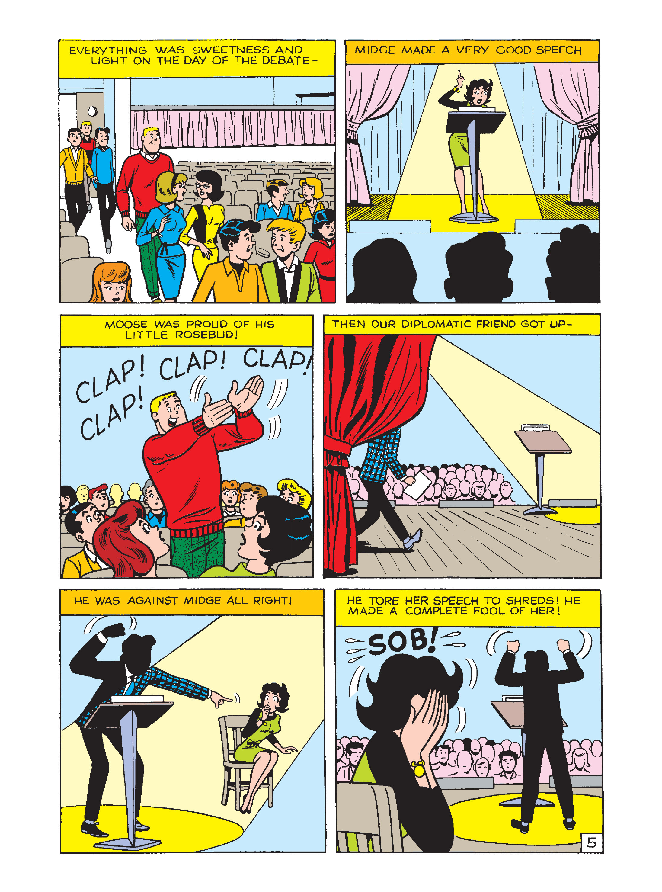 Read online Archie's Funhouse Double Digest comic -  Issue #2 - 152