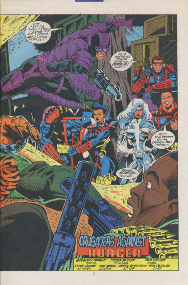 Read online Silver Sable and the Wild Pack comic -  Issue #16 - 4