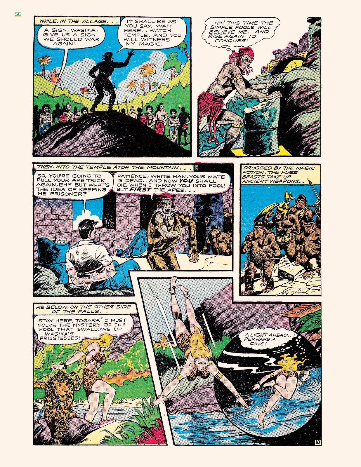 Read online Jungle Girls comic -  Issue # TPB (Part 1) - 56