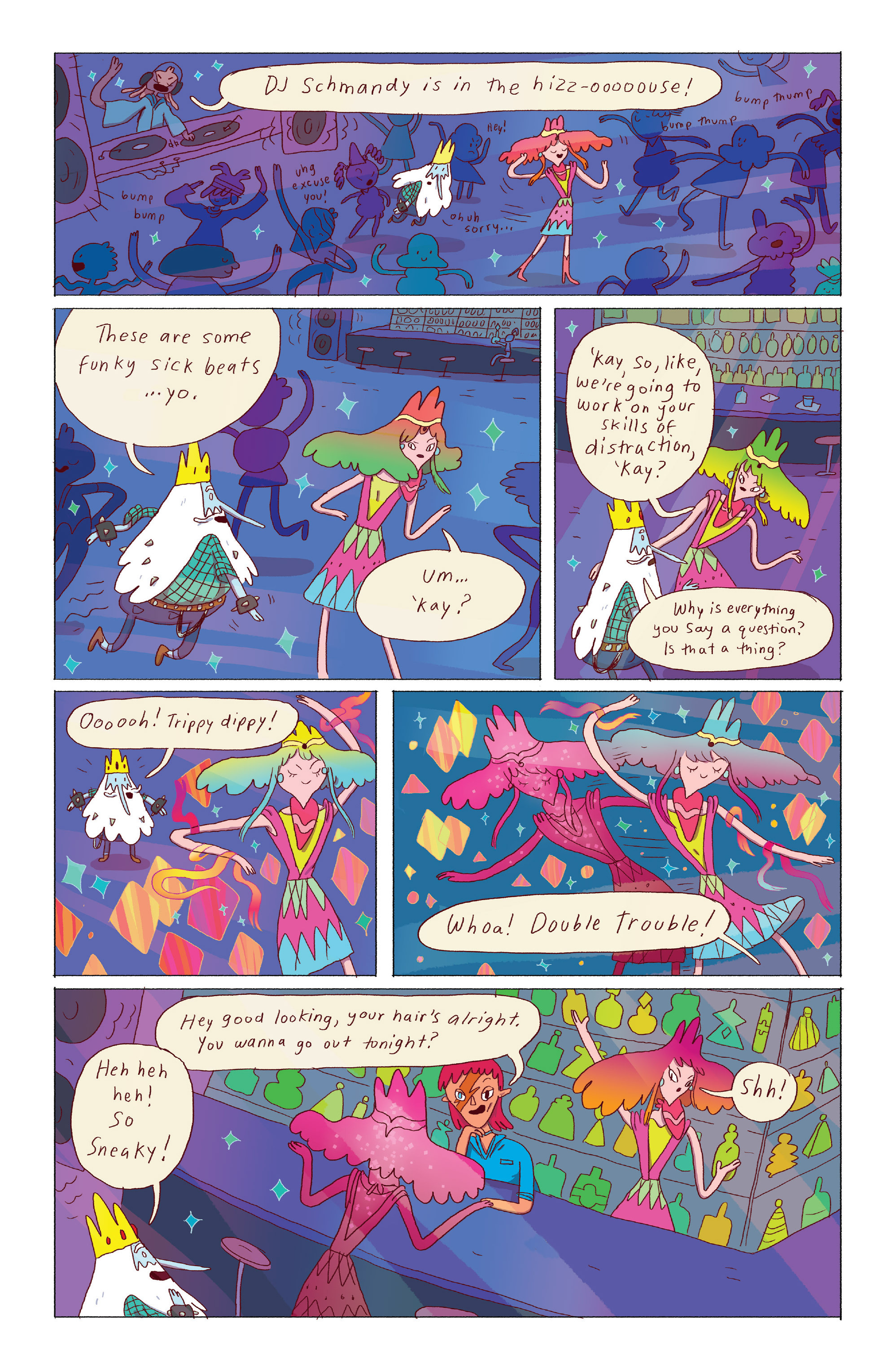 Read online Adventure Time: Ice King comic -  Issue #3 - 12