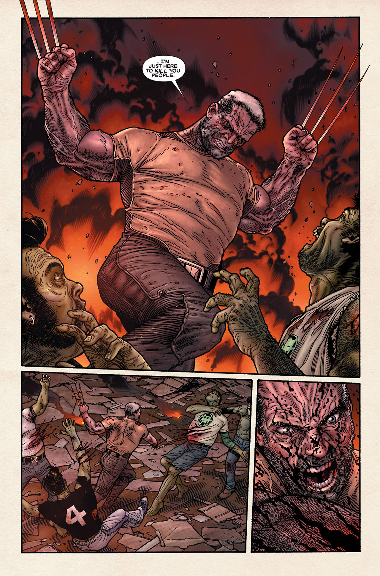 Read online Wolverine: Old Man Logan comic -  Issue # Full - 179