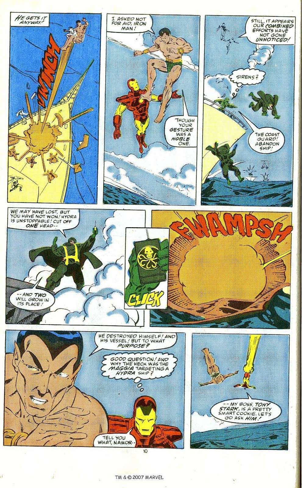 Iron Man Annual issue 10 - Page 12