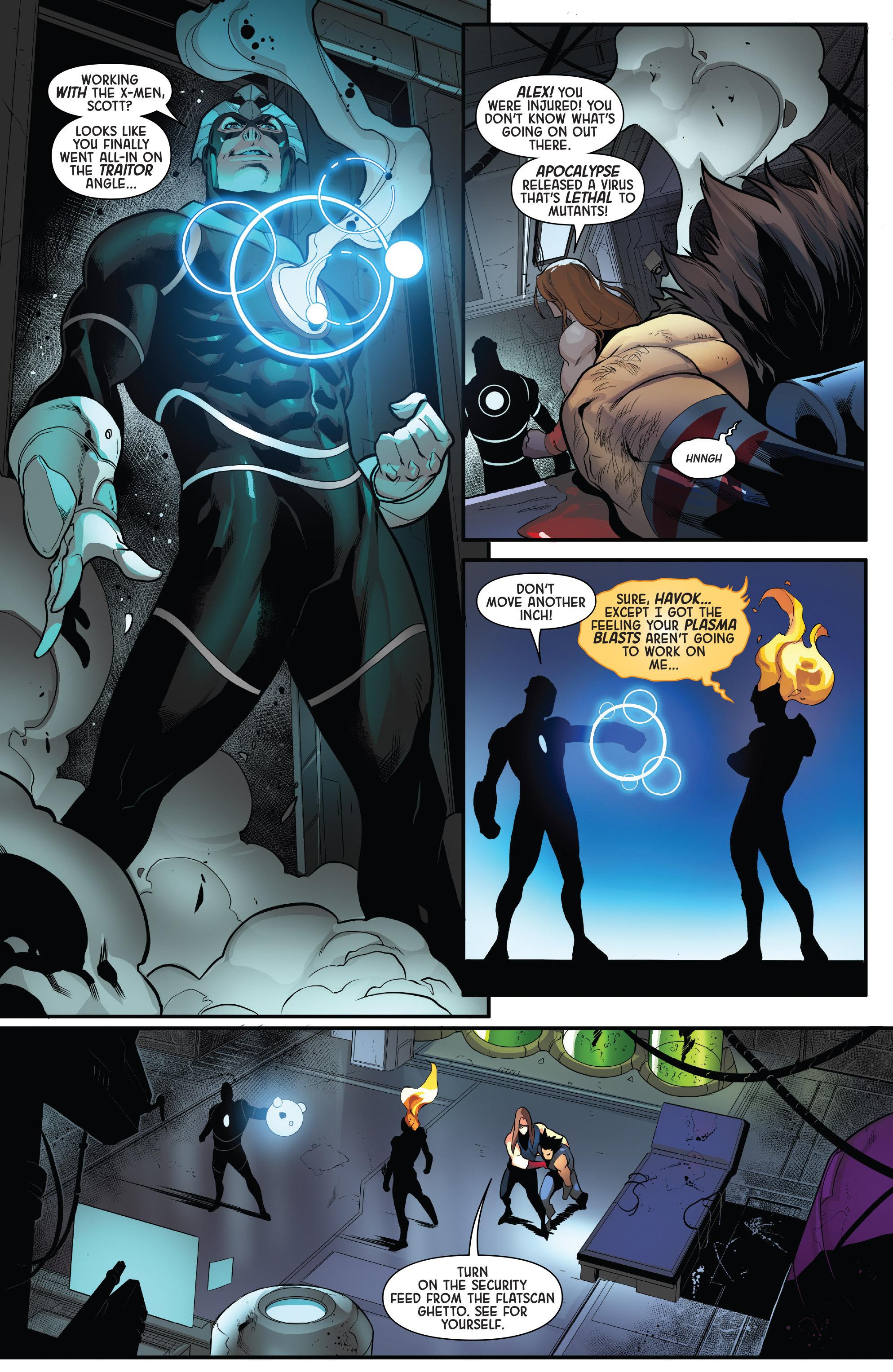 Read online Age of Apocalypse (2015) comic -  Issue #4 - 10