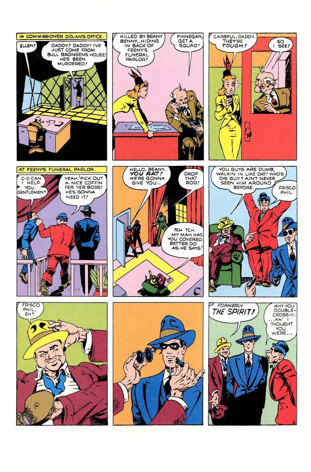Read online Will Eisner's The Spirit Archives comic -  Issue # TPB 1 (Part 2) - 60