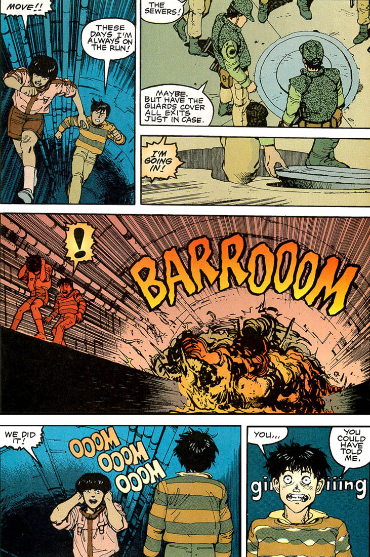 Read online Akira comic -  Issue #3 - 56