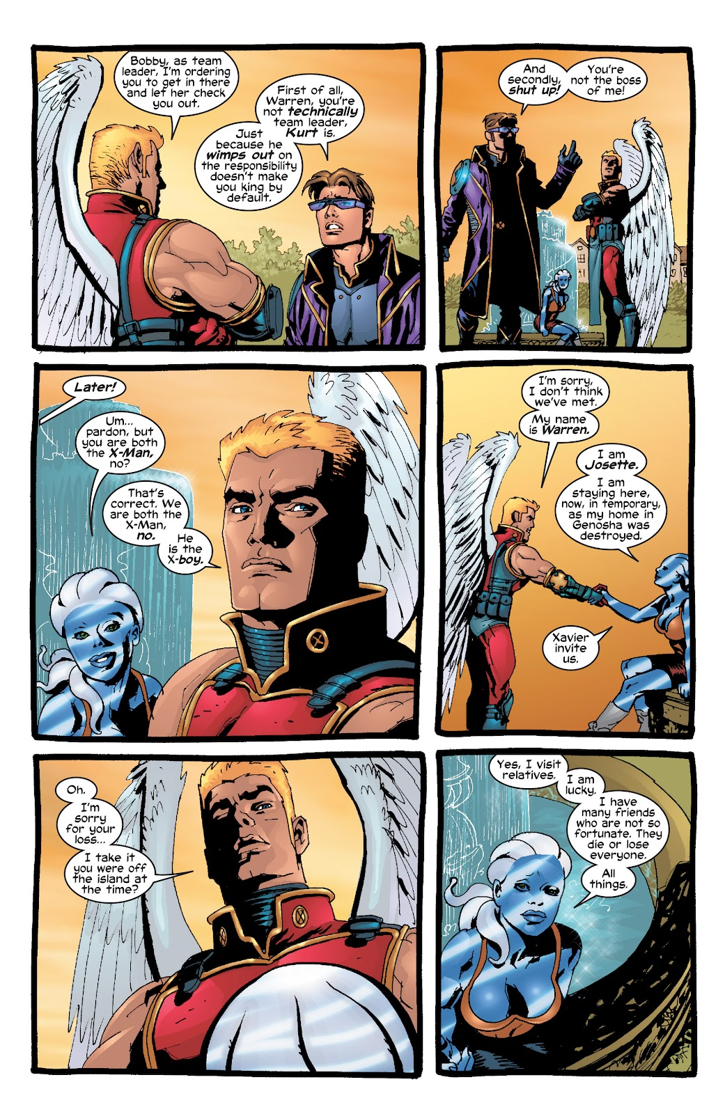 Read online X-Men: Unstoppable comic -  Issue # TPB (Part 2) - 27