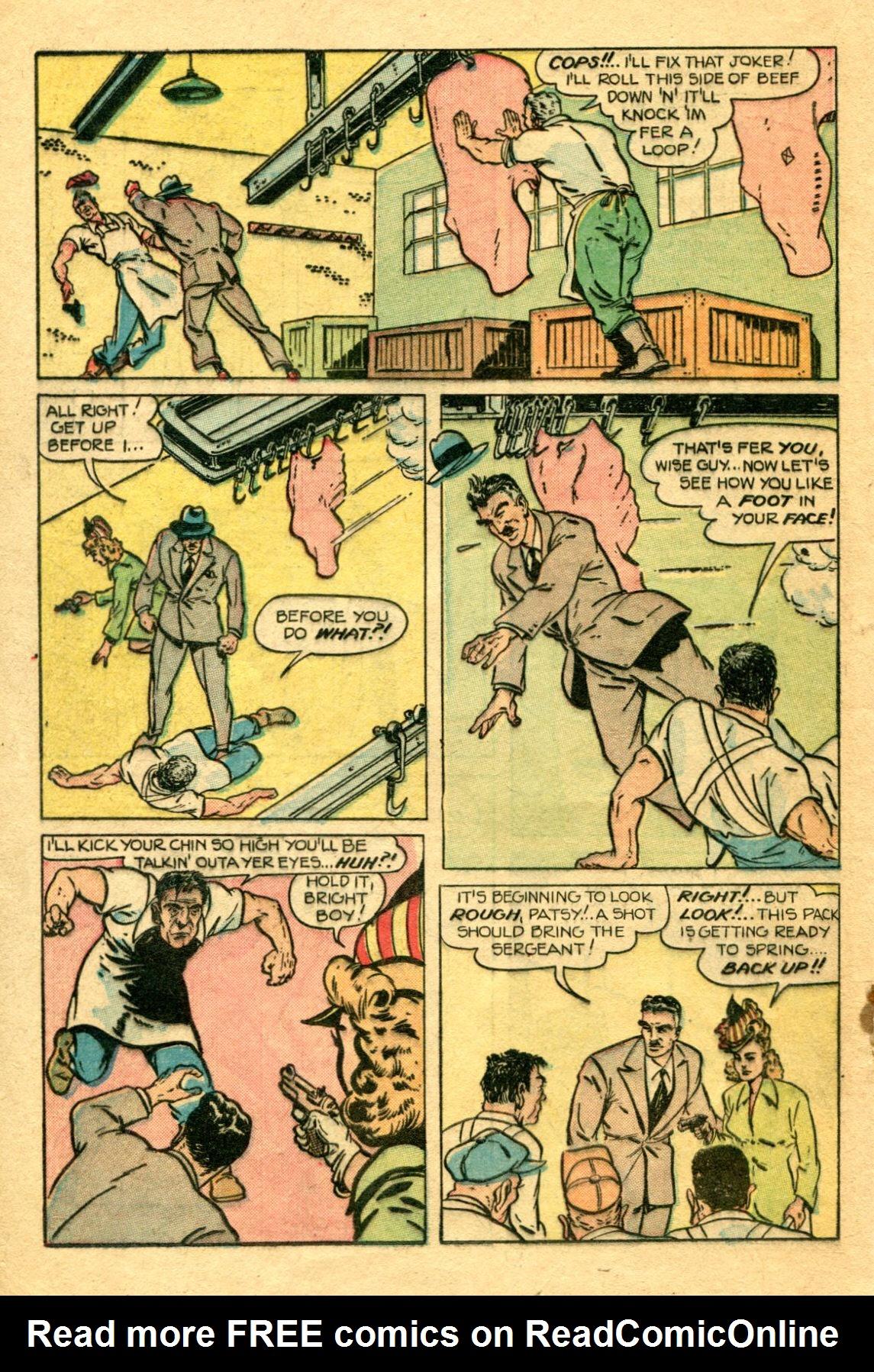 Read online Shadow Comics comic -  Issue #75 - 27