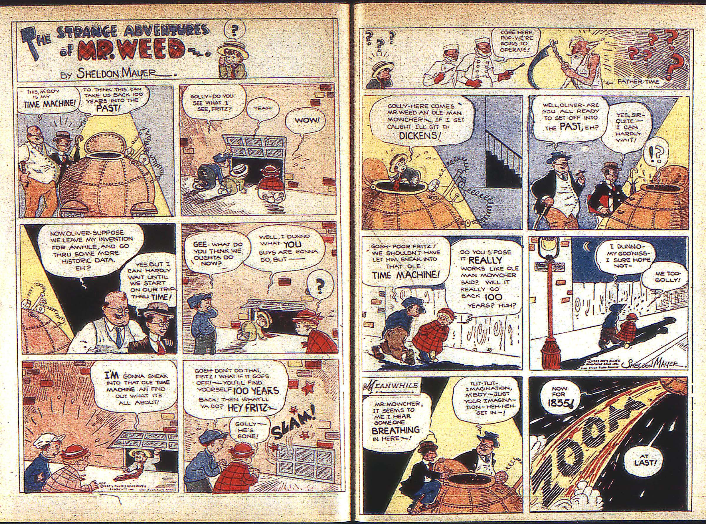 Read online Adventure Comics (1938) comic -  Issue #1 - 35