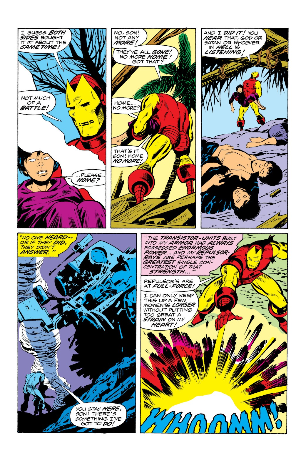Read online Marvel Masterworks: The Invincible Iron Man comic -  Issue # TPB 10 (Part 2) - 89