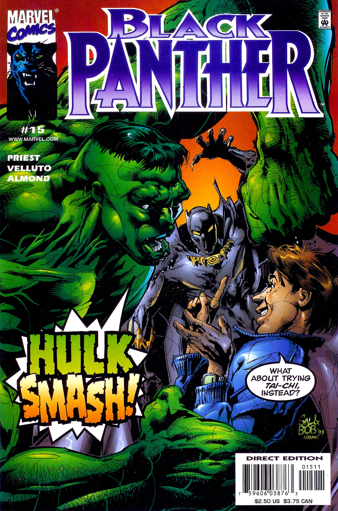 Black Panther (1998) 15 Page 1