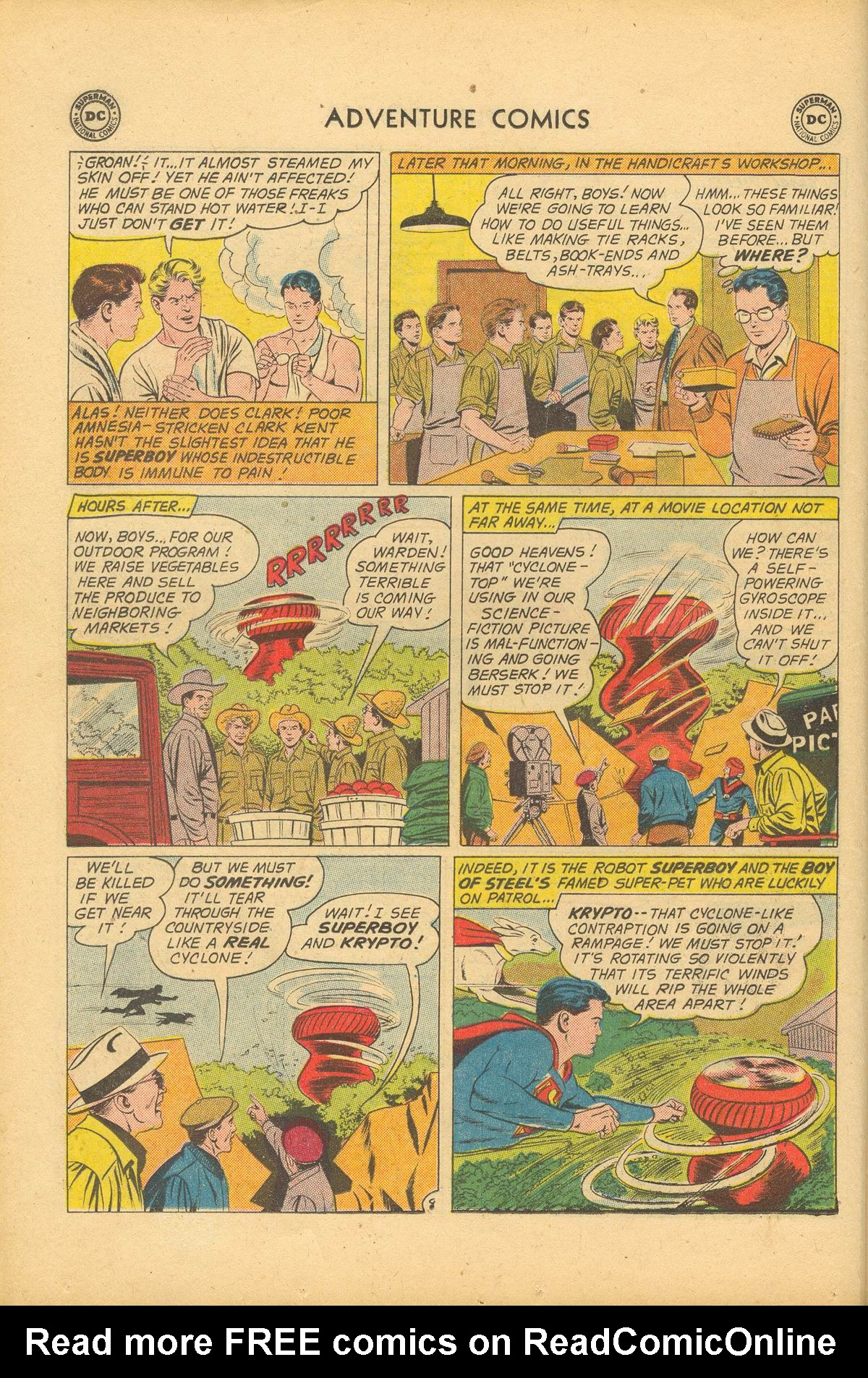 Read online Adventure Comics (1938) comic -  Issue #284 - 10
