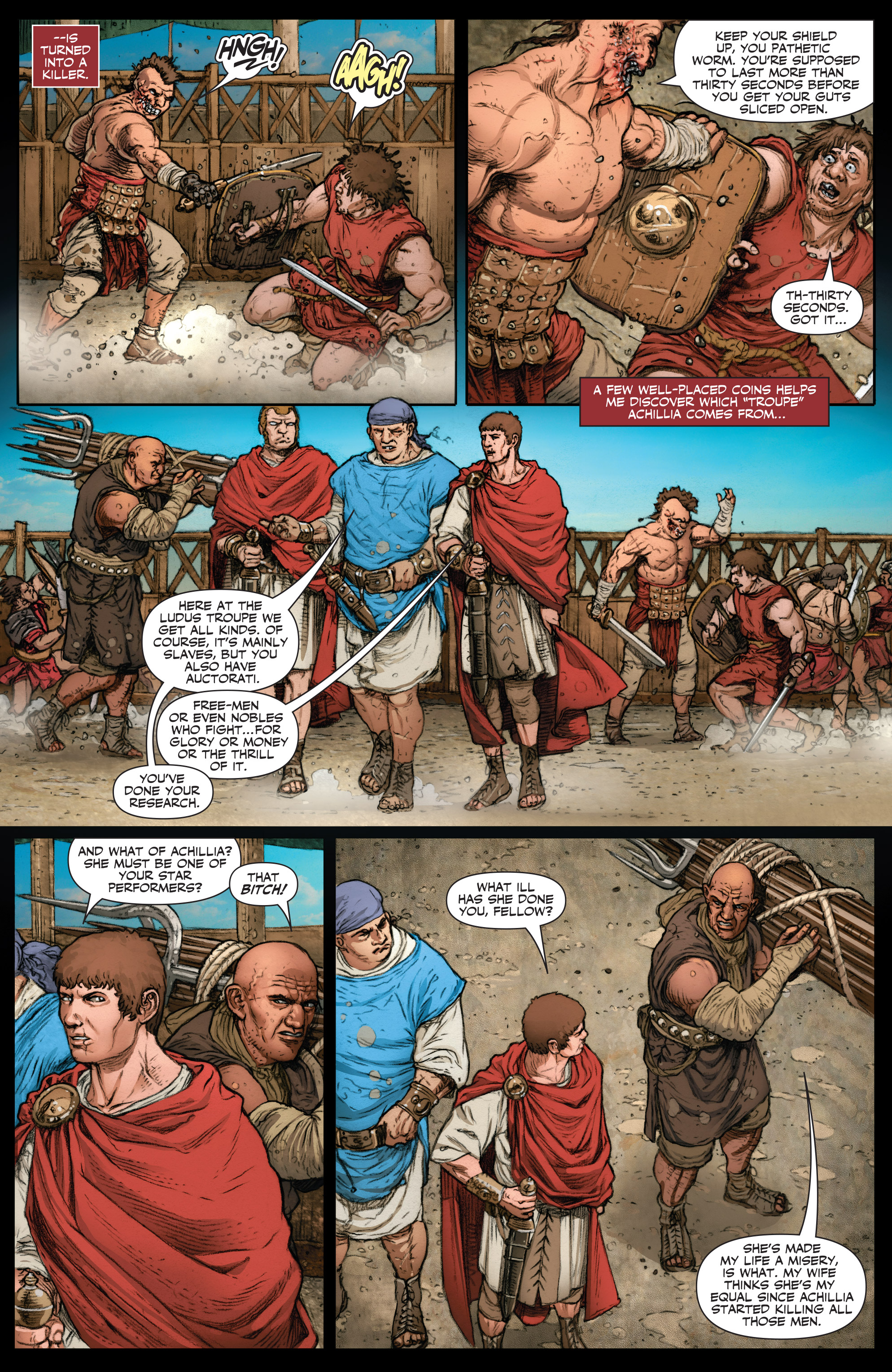 Read online Britannia: We Who Are About To Die comic -  Issue #2 - 9
