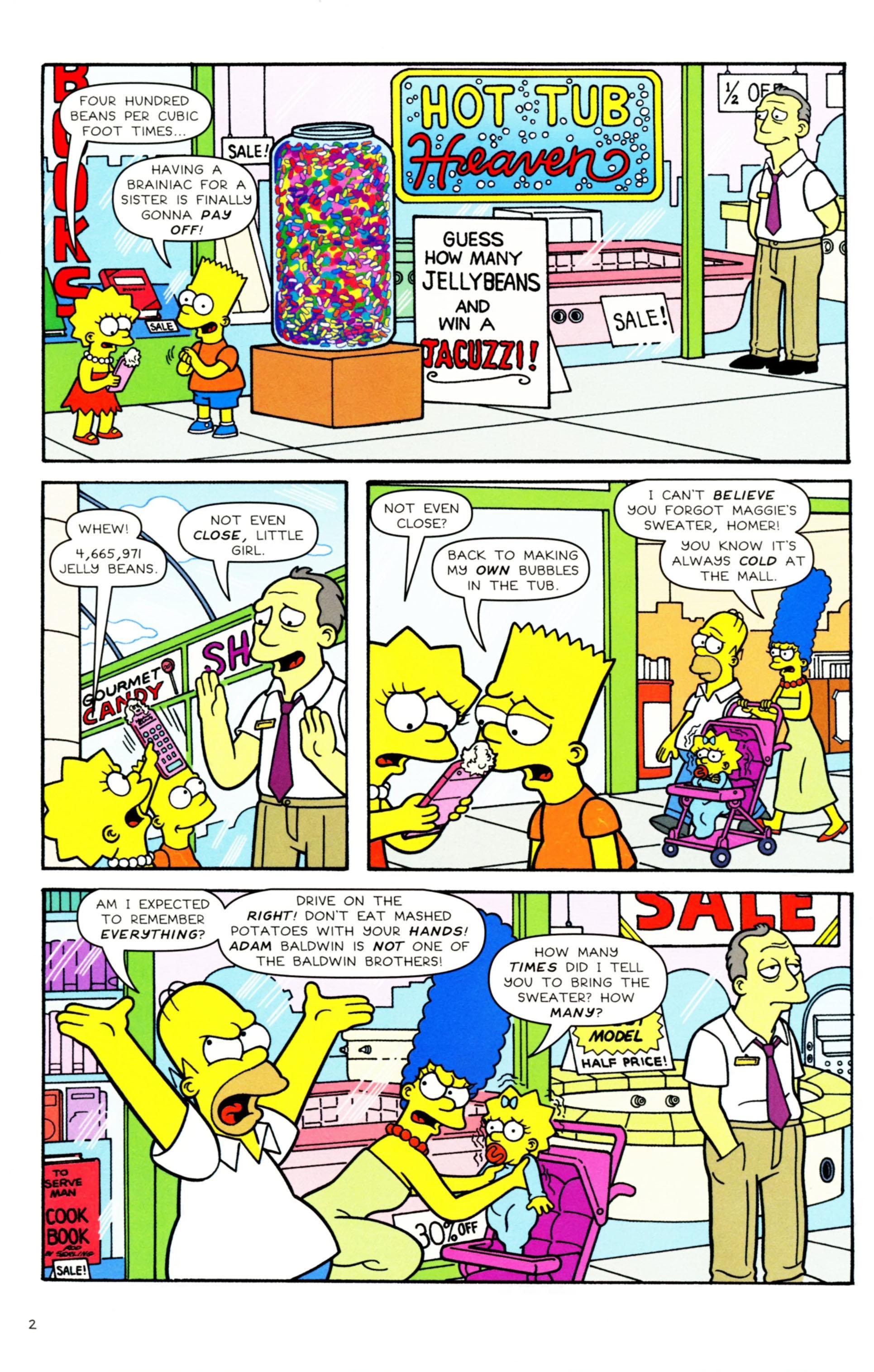 Read online Simpsons Comics comic -  Issue #158 - 3