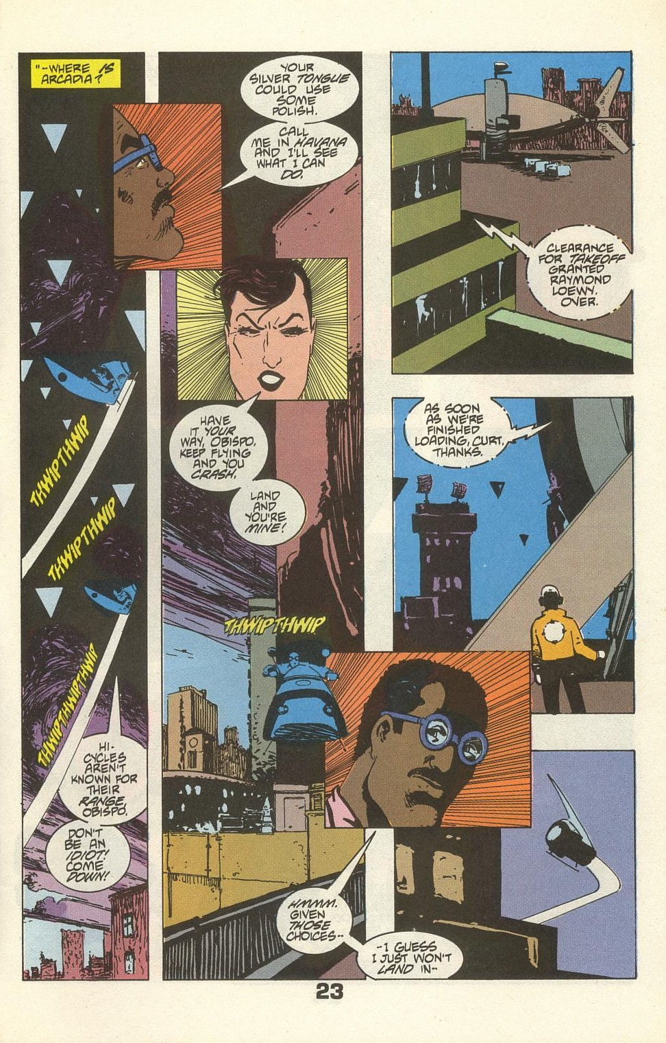 Read online American Flagg! comic -  Issue #34 - 29