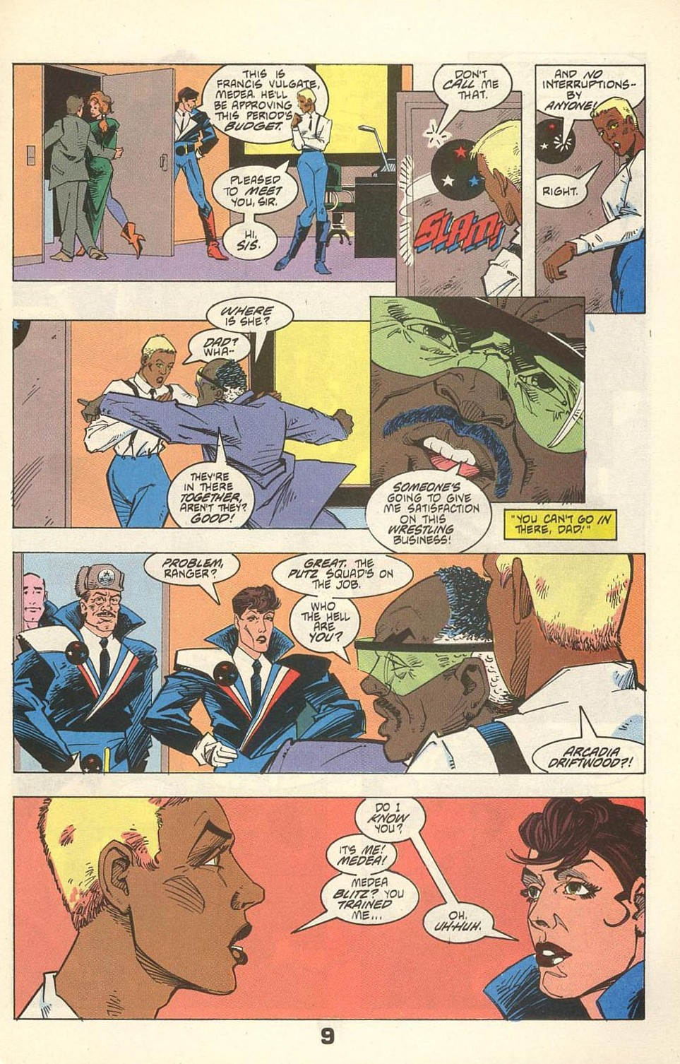 Read online American Flagg! comic -  Issue #31 - 13