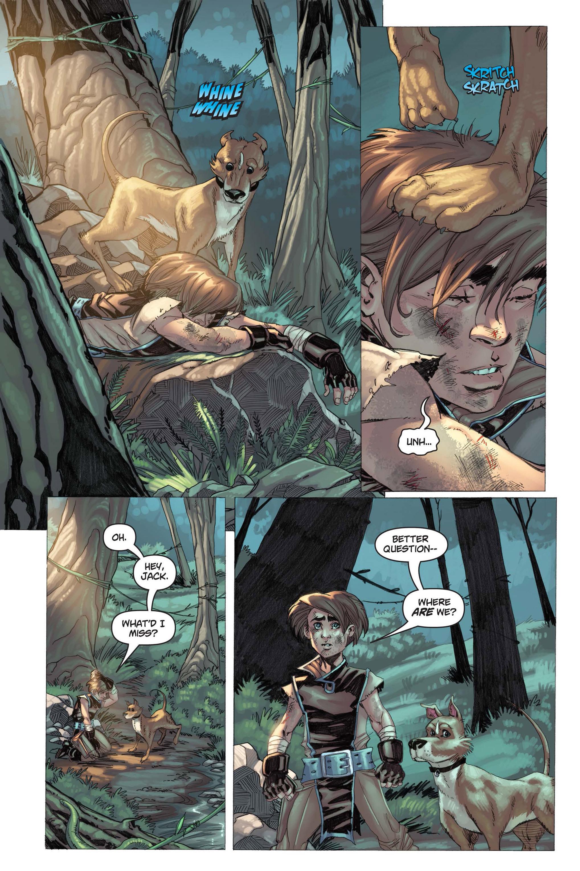 Read online Skyward comic -  Issue #3 - 9