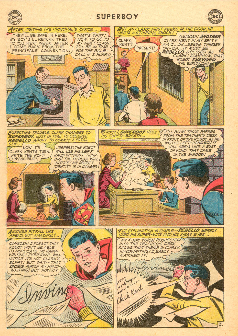 Superboy (1949) issue 72 - Page 6